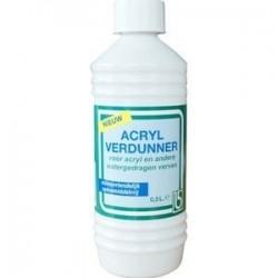 0,5 ltr. acrylverdunner